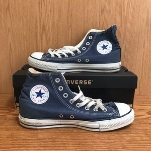 🌿 Navy Converse All Star Hightop Sneakers 🌿